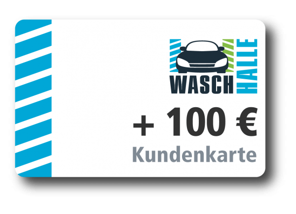 + 100 € Kartenladung