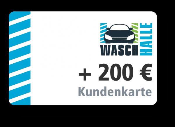 + 200 € Kartenladung