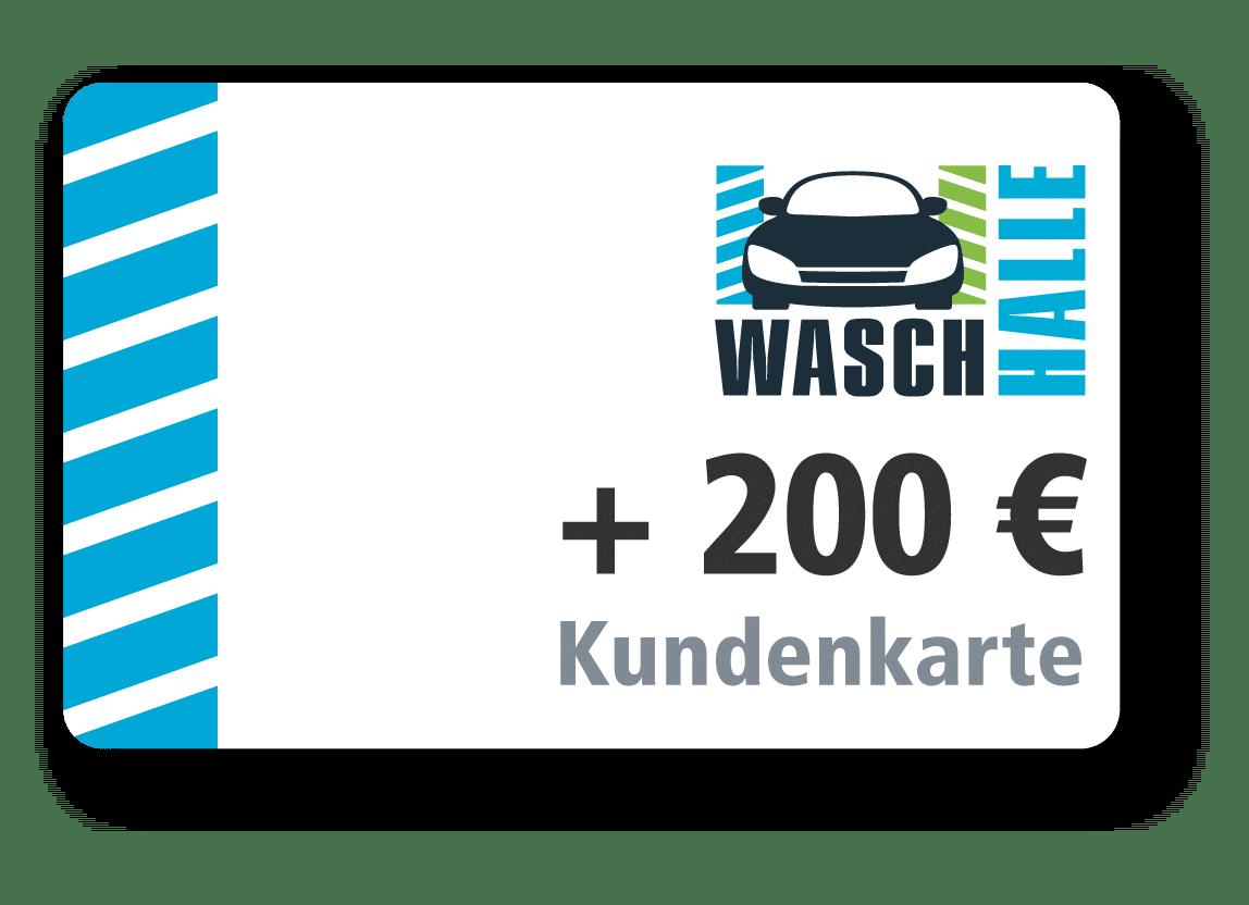 200 € Kartenladung