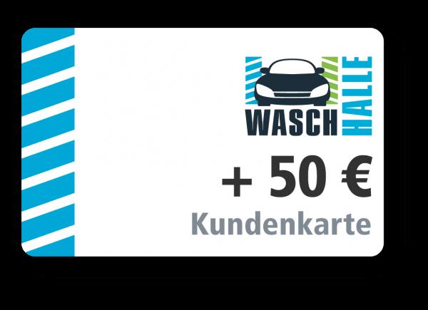 + 50 € Kartenladung