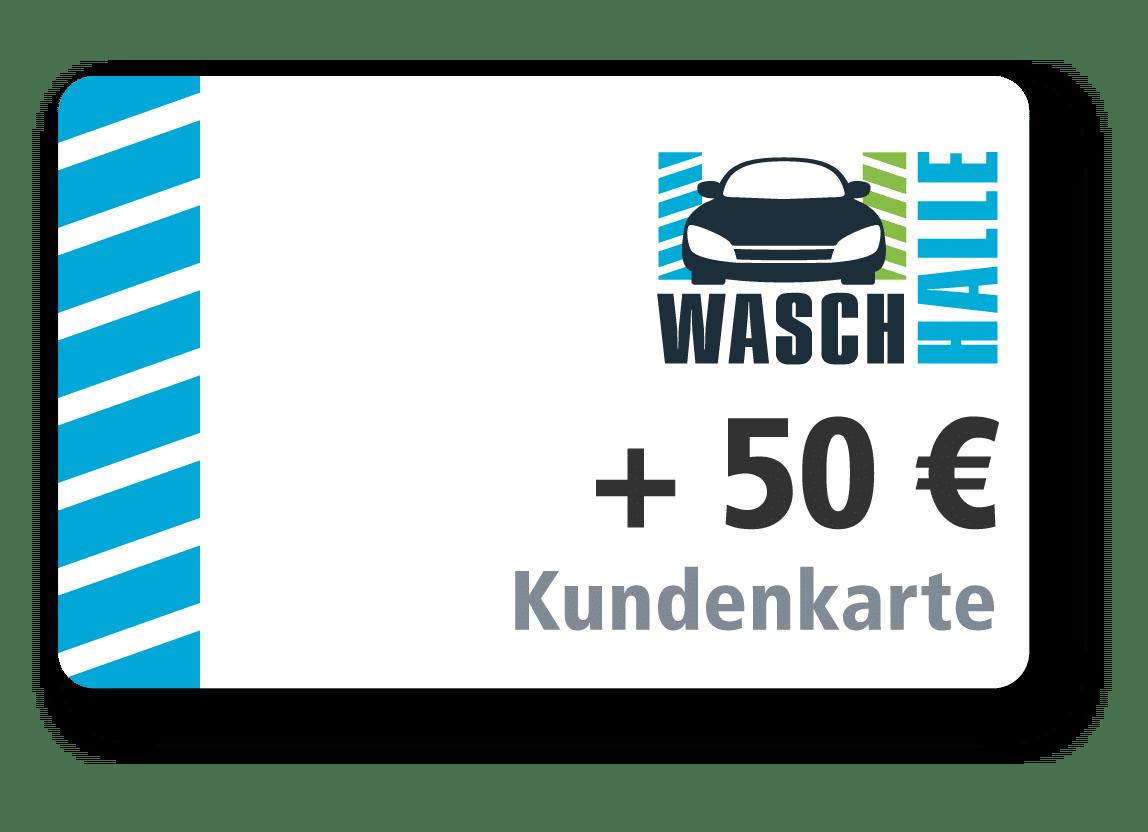 50 € Kartenladung