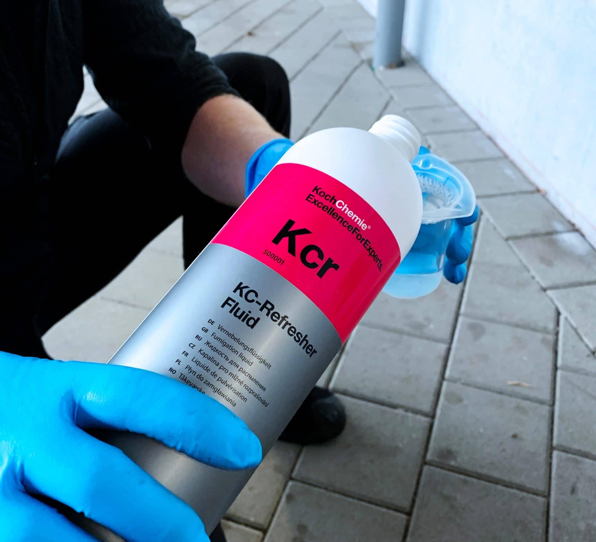 KC-Refresher abmessen